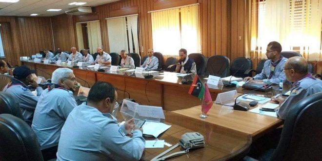 حلقة الجوالة تعقد اجتماعها الأول لسنة 2021 م